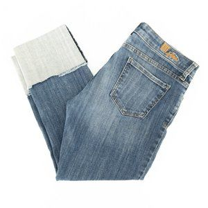 Kut From The Kloth Jeans Cropped Cuffed Sz 8 32x24